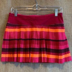 Lululemon Pleat to Street Bumble Berry Skirt 6